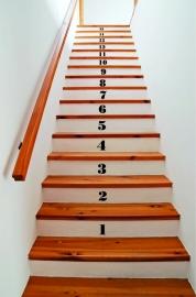 trapsticker tellen (cijfers)