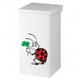 prullenbak sticker lievenheersbeestje prijs vanaf