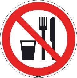geen eten en drinken