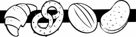 N6-237 keuken sticker ( broodjes ) prijs vanaf
