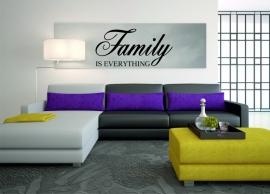 muursticker: Family is everything
