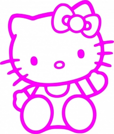 Hello Kitty sticker A1