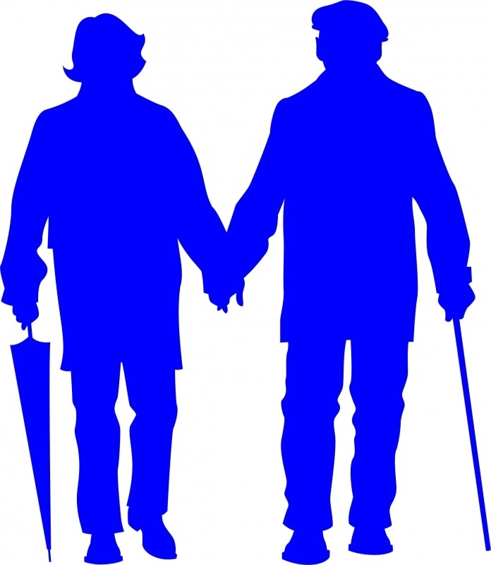 B12-071c oud echtpaar prijs vanaf