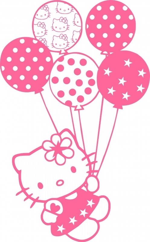 Hello Kitty sticker A6