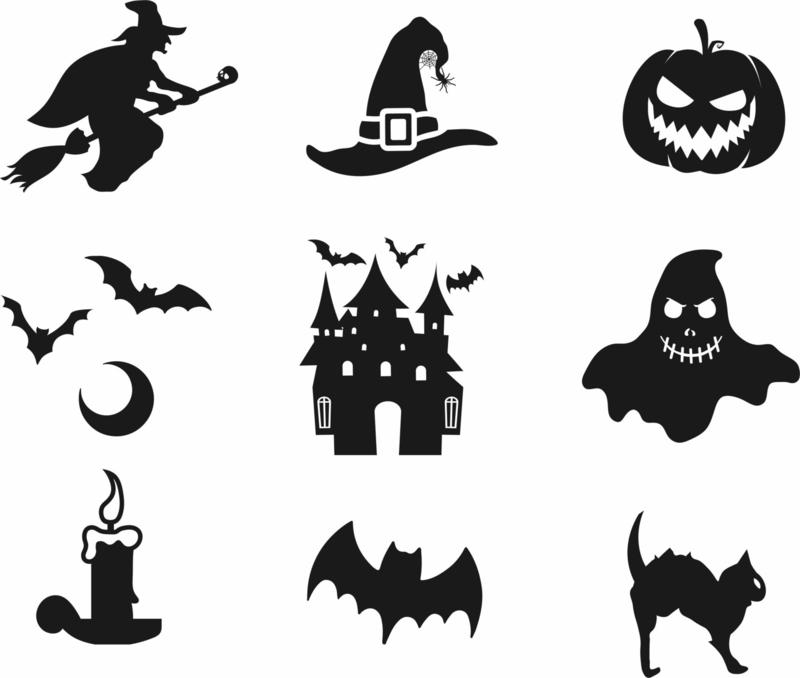 Halloween set Nr.2