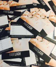 Afsprakenkaartjes Fabelash