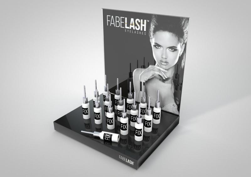 Fabelash Counter Display