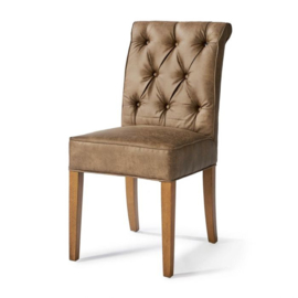 Hampton Classic Dining Chair, pellini, coffee
