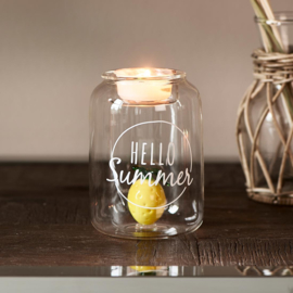 Hello Summer Fillable Votive