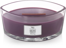 Dark Poppy Ellipse WoodWick® HearthWick Candle