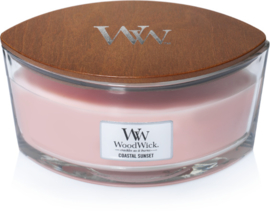 Coastal Sunset Ellipse WoodWick® HeartWick Candle