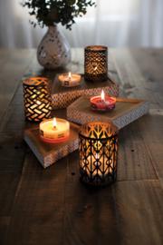 Evening Onyx Petite Travel Candle WoodWick®