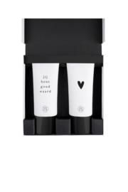 Giftbox met douchegel en lotion hartje
