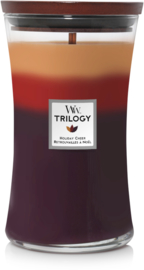 Holiday Cheer Trilogy Large Candle WoodWick®