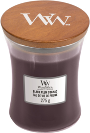 Black Plum Cognac Medium Candle WoodWick®