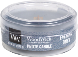 Evening Onyx Petite Travel Candle WoodWick®