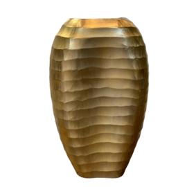 Vase ALU RAW/BRONZE 25x13x40