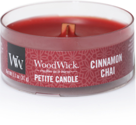 Cinnamon Chai Petite Travel Candle WoodWick®