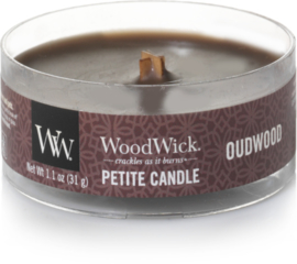Oudwood Petite Travel Candle WoodWick®