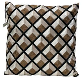 Cushion Black/Copper CO 50x50