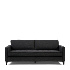 The Jake Sofa 3,5 Seater, mélane weave, carbon