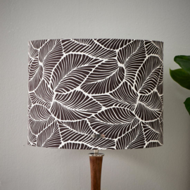 Basic Bliss Leaf Cylinder Lampshade 30x40