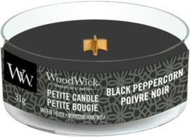 Black Peppercorn Petite Travel Candle WoodWick®