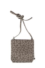 Basic schoudertas S leopard