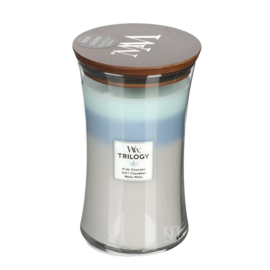 Trilogy Woven Comforts Large Candle WoodWick®