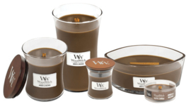 Amber & Incense Large Candle WoodWick®
