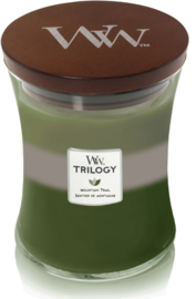 Mountain Trail Trilogy Medium Candle WoodWick® 60h.