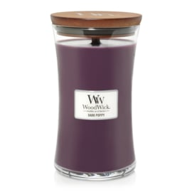 Dark Poppy Large Candle WoodWick®