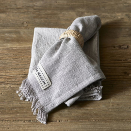 Boho Basic Napkin quiet grey