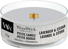 Lavender & Cedar Petite Travel Candle WoodWick®