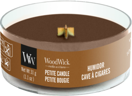 Humidor Petite Travel Candle WoodWick© 8h