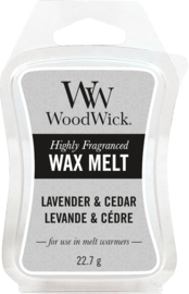Lavender & Cedar Mini Wax Melt WoodWick®