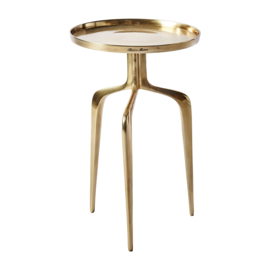 Faubourg End Table gold 35 cm. dia