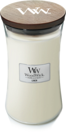 Linen Large Candle WoodWick®