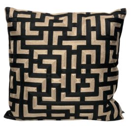 Cushion Graphic Black/Naturel CO 50x50