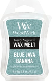 Blue Java Banana Mini Wax Melt WoodWick®