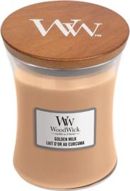 Golden Milk Medium Candle WoodWick®