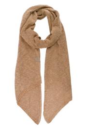 Luchtig gebreide sjaal kaki