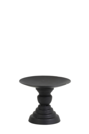 Kandelaar Ø10,5x8,5 cm POZZO mat zwart
