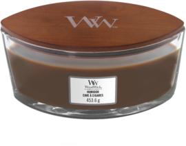 Humidor Ellipse WoodWick® HeartWick Candle
