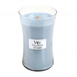 Soft Chambray Large Candle WoodWick®