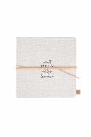 Vriendinnenboek met jou linnen