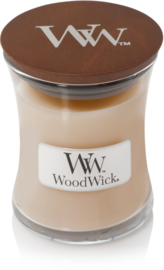 White Honey Mini Candle WoodWick© 20h.