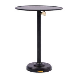 Venice Adjustable Sofa Table black L