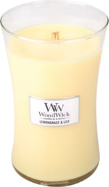 Lemongrass & Lily Large Candle WoodWick®