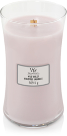 Wild Violet Large Candle WoodWick®